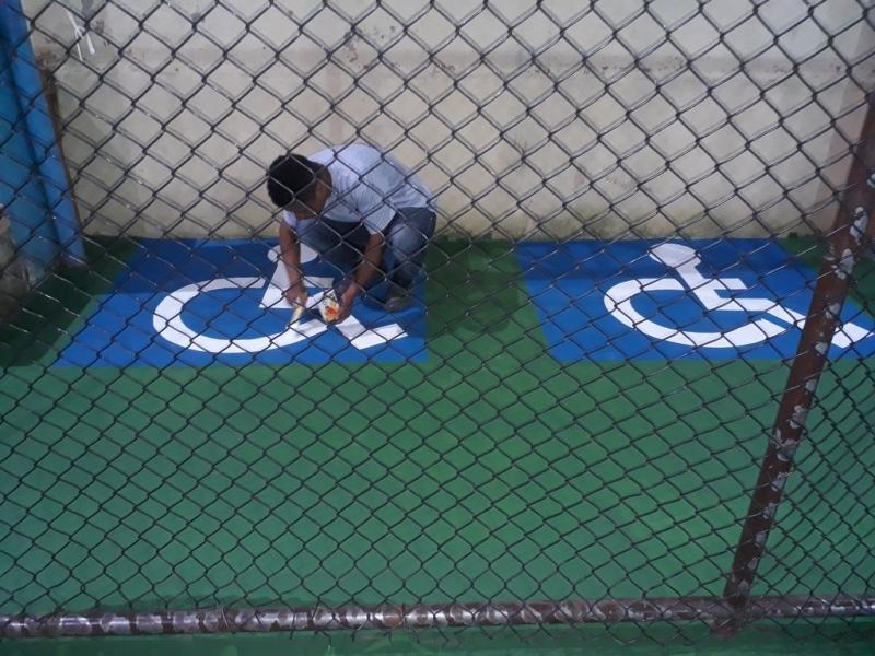 Pintura Epóxi a Base de água Preço Cidade Patriarca - Pintura Epóxi Quadras Esportivas