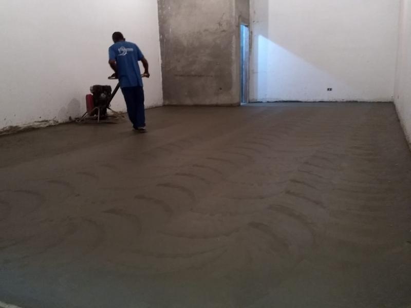 Piso Polido de Cimento Jardim Paulistano - Piso Porcelanato Polido Risca Fácil