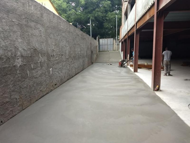 Pisos de Concreto de Alta Resistência Jardim Europa - Piso de Concreto para área Externa