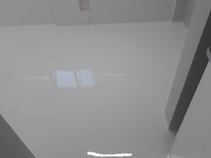 Revestimento Autonivelante Poliuretano Butantã - Revestimento Porcelanato Autonivelante Branco