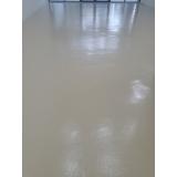 aplicação de pintura epóxi chão preço Vila Mariana