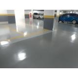 aplicação de pintura epóxi de piso preço Itapevi