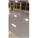 aplicação de pintura epóxi em piso valor Penha