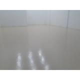 aplicação de pintura epóxi para chão preço Jandira
