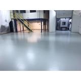 aplicação de pintura epóxi piso valor Santo Amaro
