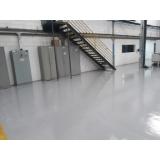 aplicação de pintura epóxi piso Água Branca