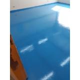 aplicação de piso epóxi Barra Funda