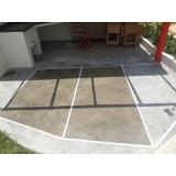 aplicação de resina epóxi em piso valor Parque São Rafael