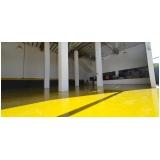 aplicação de resina epóxi em pisos preço Belém