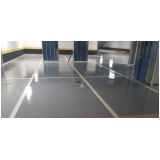 aplicação de resina epóxi para piso preços Campo Limpo