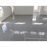 aplicação de resina epóxi de piso