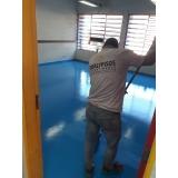 aplicação de tinta epóxi em pisos Vila Buarque
