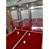 aplicação em resina epóxi para piso preço Aricanduva
