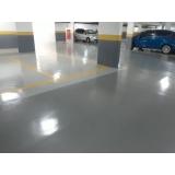aplicação resina epóxi para estacionamento preço Pirituba