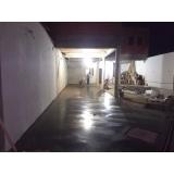 custo para piso de concreto polido para garagem Embu Guaçú