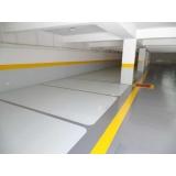 empresa de pintura epóxi estacionamento