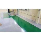 empresa de piso de resina epóxi Aeroporto