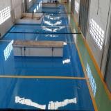 empresa de piso industrial epóxi Ponte Rasa