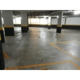 onde encontro piso de concreto estacionamento Brooklin