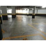 onde encontro piso polido para garagem Campo Grande