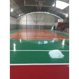 orçamento de pintura em quadra poliesportiva Cajamar
