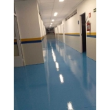 pintura com poliuretano para piso cotar Morumbi