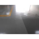 pintura epóxi garagem Glicério