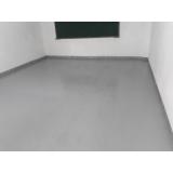 pintura epóxi no piso preço Alto da Lapa