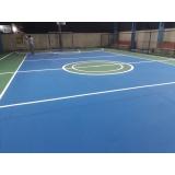 pintura epóxi para quadra poliesportiva orçar Campo Grande