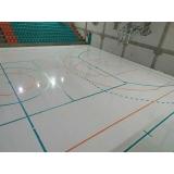 pintura epóxi para quadra poliesportiva Campo Grande