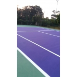 pintura epóxi quadras esportivas preço Raposo Tavares