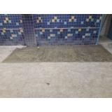 pintura epóxi sobre piso Santo Amaro