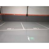 pintura poliuretano para pisos industrial Campo Grande
