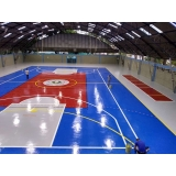 pintura quadra poliesportiva oficial Campo Grande