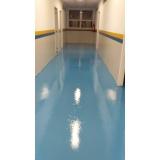 pintura tinta epóxi para piso orçamento Moema