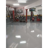 pintura poliuretano para pisos industrial