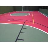 pintura epóxi quadras esportivas