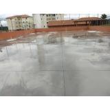 piso de concreto armado São Domingos