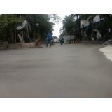 piso de concreto camurçado Penha