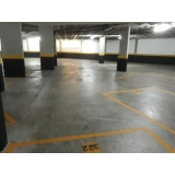 piso de concreto estacionamento Cidade Ademar