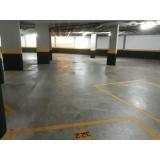 piso de concreto estacionamento Alto de Pinheiros
