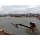 piso de concreto para área externa Freguesia do Ó