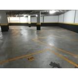 piso de concreto polido branco Higienópolis