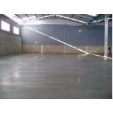 piso de concreto polido com resina orçar Vila Mariana