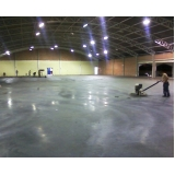 piso de concreto polido com resina valores Campo Grande