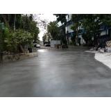 piso de concreto Ribeirão Pires