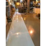 piso de resina epóxi preços Aricanduva
