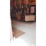 piso de revestimento epóxi Cidade Dutra