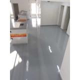 piso em epóxi Cidade Dutra