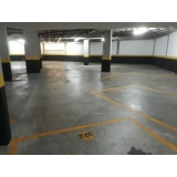 piso para garagem interna Jockey Clube